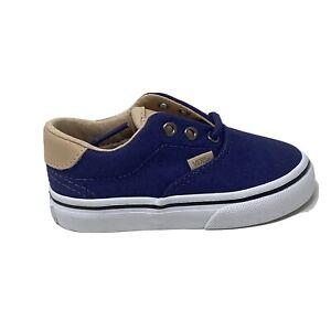 Vans Era 59 Toddler Baby Shoes Veggie Tan Crown Blue 5.5 New