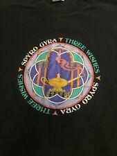 Spyro Gyra Oneida (Xl) T-Shirt Vintage Band Three Wishes Concert Genie Lamp