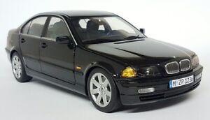 UT Models 1/18 Scale - BMW 328i e46 Black / Green Interior - Diecast Model Car