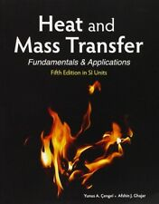 NEW 3 Days to AUS Heat and Mass Transfer Fundamentals & Applications 5E Cengel