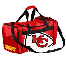 Kansas City Chiefs Duffle Bag Gym Swimming Carry On Travel Luggage Tote NEW