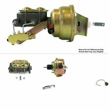 "1968-1974 Chevy Nova FW Mount Power 7"" Single Brake Booster Kit Drum / Drum"