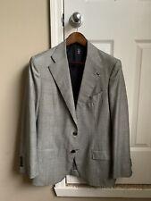 Sartoria Formosa NMWA Lightweight Wool Glen Plaid Suit - Size 36 / 46 Italy