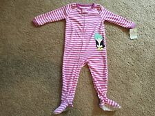 New Carter's Baby Girls Footed Penguin Coverall. Size 24 Months