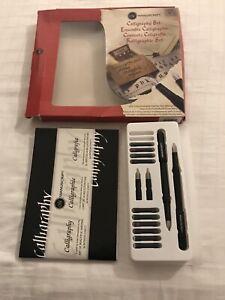 Manuscript Calligraphy Pen Set Used Left Handed