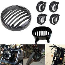 Heavy Metal Head Light + CAP Indicator+Tail Grill For Bajaj Avenger Street 220