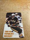 Jeff+Capello+1985-86+University+of+Vermont+Hockey+Pocket+Schedule+Card