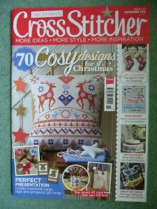 CROSSSTITCHER MAGAZINE ISSUE 272 NOVEMBER 2013 VERY GOOD USED CONDITION L