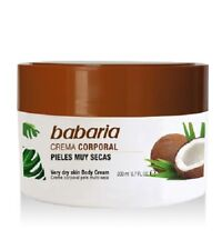 CREMA CORPORAL BABARIA COCO 200ml / Coconut Babaria Very Dry Skin Body Cream