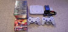 Sony Playstation PS One PS1 Console 33 Games Bundle Lot Fast Shipping