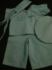 Cabbage Patch kids doll clothes (Surgical Scrubs) Pre-Owned