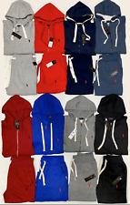 Polo Ralph Lauren Top And Bottom Zip Up Hoodie Sweat Suit Brand New Complete Set