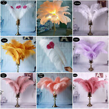 40-45cm Long Quality Ostrich Feathers Costume Ornament Wedding Party Plume Decor