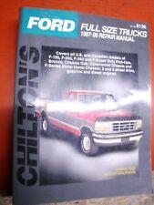 1987-96 Ford Bronco & Pick Ups Chilton Repair Manual Service 95 94 93 92 91 90