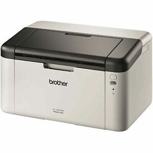 Brother HL1210W Mono laser Printer Wireless /150-sheet 20ppm Black starter toner