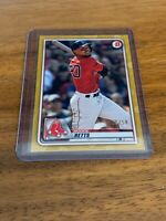 2020 BOWMAN MOOKIE BETTS GOLD PARALLEL RED SOX SP /50 #45
