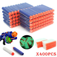400Pcs Nerf Darts Refill Nerf Bullets Round Head Blasters For N-Strike Toy