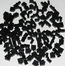 LEGO LOT OF 100 BLACK 1 X 4 SWIVEL MOVABLE PARTS PIECES