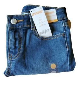 Brand New Boys Size 7 Denim Jeans Kids Pants Adjustable Waist