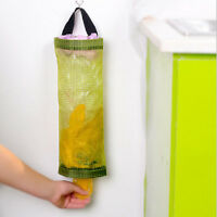 Home Grocery Bags Holder Wall Mount Storage Dispenser Plastic Kitchen Organizers