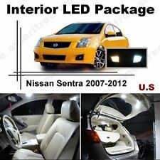 White LED Lights Interior Package Kit for Nissan Sentra 2007-2012 ( 6 Pcs )