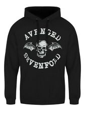 Avenged Sevenfold Hoodie A7X Logo Pullover Men's Black