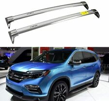 Fit for Acura MDX 2014-2020 Stainless Steel Roof Rail Rack Cross Bars Crossbar