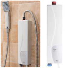 220v Mini Instant Electric Tankless Hot Water Heater Shower Kitchen Bathroom