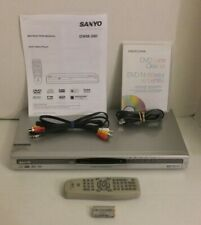Sanyo DWM395 DVD Player Profanity Filter Remote Battery Cable Manual Lens Clean