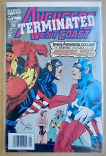 Avengers West Coast  Terminated #102 (Newsstand, 1994)