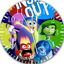 """Disney Insideout wall Clock 10"""" will be nice Gift and Room wall Decor E59"""