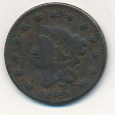 1825 CORONET HEAD LARGE CENT-A NICE CIRCULATED COPPER CENT-SHIPS FREE! INV: 2