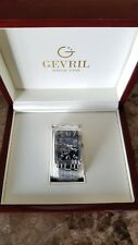 GEVRIL AVENUE OF AMERICAS INTRAVEDERE SWISS AUTOMATIC/Model 5071B WATCH
