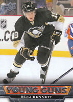 13/14 UPPER DECK YOUNG GUNS ROOKIE RC #219 BEAU BENNETT PENGUINS *27818