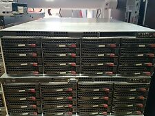 SuperMicro NAS OPEN Filer NAS SW 32 x 146Gb 15k HD 2 x Xeon 5160 8GB vmware san