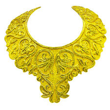 18K Yellow GOLD Neck Armor Plate Antique Estate Necklace 279 GRAMS SOLID GOLD