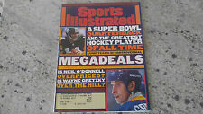 Sports Illustrated March 11 1996 Neil O'Donnell Wayne Gretzky