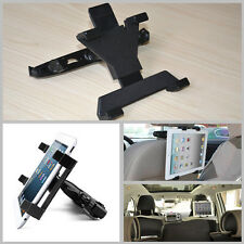 Universal Car Back Seat Ratating Bracket Headrest Mount Holder For iPad Tablet