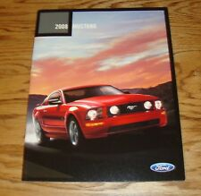 Original 2008 Ford Mustang Sales Brochure 08 Shelby GT500 V6 GT