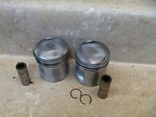 Honda 125 CB CB125T CB125-T Used Engine STD Piston Ring Kit Set 1991 HB181
