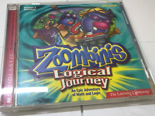 The Learning Company Logical Journey of the Zoombinis Deluxe for PC Mac CD-ROM