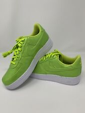 huge discount 733e5 03d4d Nike AIR FORCE 1  07 LV8 UV CYBER GREEN LIME AJ9505 300 Brand New MENS
