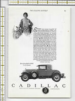 Cadillac General Motors Corporation automoblile car 1927 magazine print ad