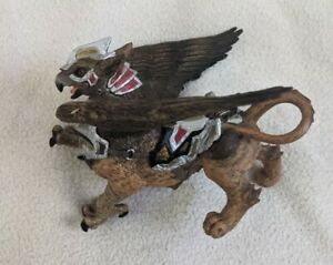 Papo Fantasy Creature War Griffin Action Figure Bird Man Mythical Winged 2010
