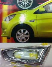 CHROME SIDE LAMP SIDE VENTS COVER FOR MITSUBISHI MIRAGE ATTRAGE 2013 2014 2015