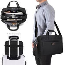 Water Resisatant Business Messenger Briefcase for Men/Women Fits 15.6 Inch Lapto