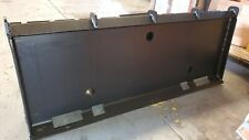 Skid Steer Mounting Plate With Free Towing Kit