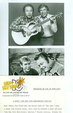 BUCK OWENS ROY CLARK HEE HAW 10TH ANNIVERSARY ORIGINAL 1979 TV PHOTO