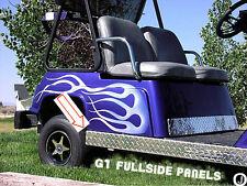 YAMAHA G1 Golf Cart Highly Polished Aluminum Diamond Plate FULLSIDE Panels