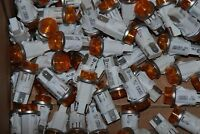 """Lot of 10 Chicago Miniature 1051QC3 Panel Mount Indicator Lamps AMBER 1/2"""""""